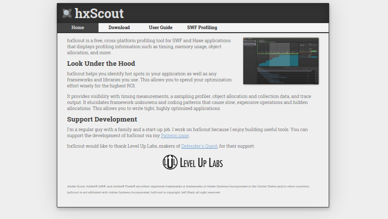 hxscout 0.4.0 jeff ward social
